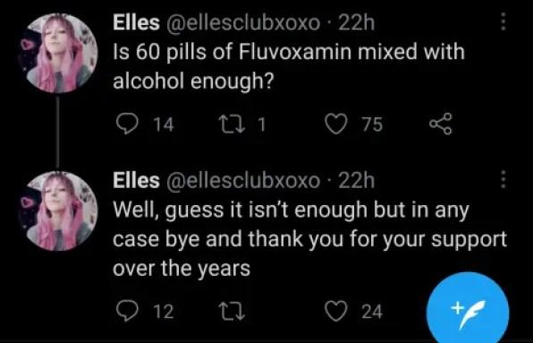 ELles self-harm