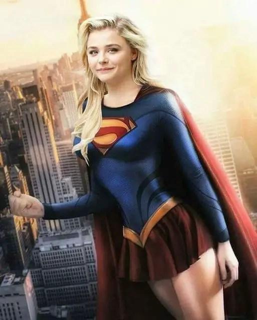 Chloë Grace Moretz Supergirl