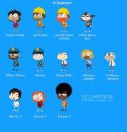 Zomberry Island characters