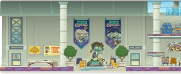 Poptropicon lobby bts image 1