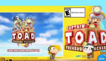 captain toad ad