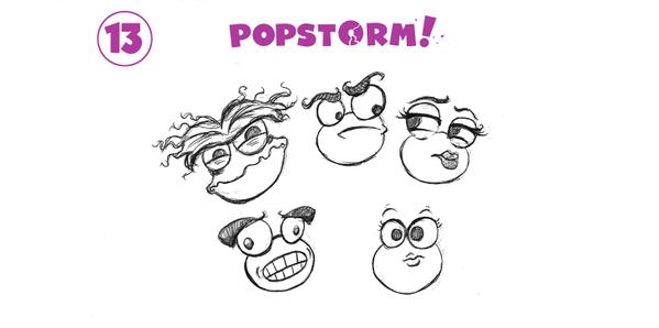 Remarkable Realms & PopStorm #13 (eyebrows)
