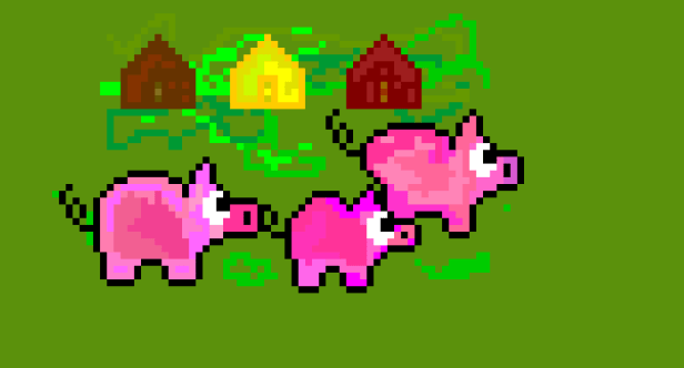 The Three Little Pigs by G-Hopper
