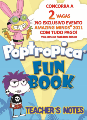 Poptropica Fun Book Teacher's Notes