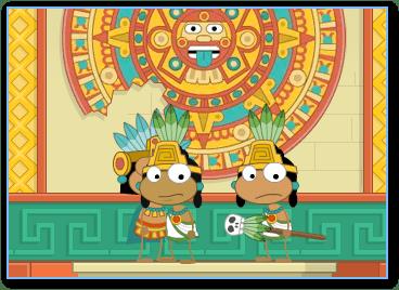 Aztec Temple in Poptropica