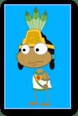 Aztec Priest Costume in Poptropica