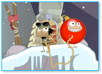 Poptropica Mountain Climbing with Sherpa