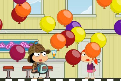 Poptropica Inspector - 4th Birthday Balloon