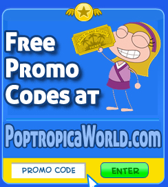 Promo Codes for Poptropica