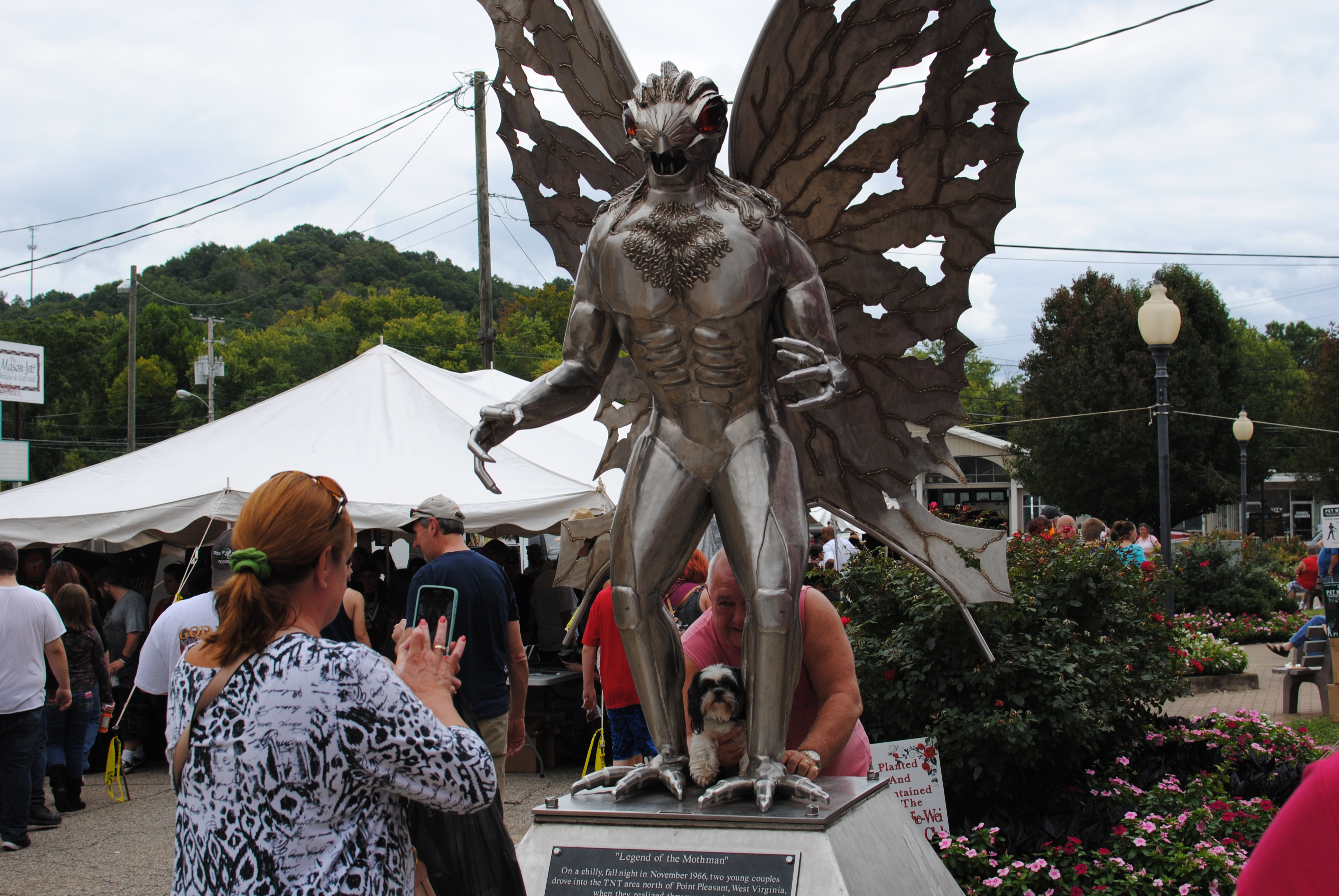 The Mothman Is Your Friend