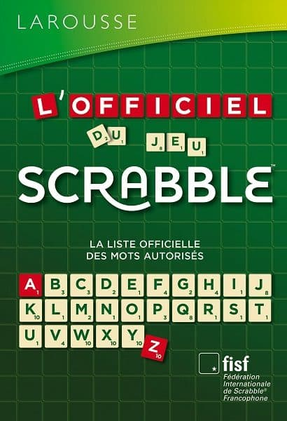 l'officiel du srabble ou le dictionnaire du srabble ods 8 ods 9