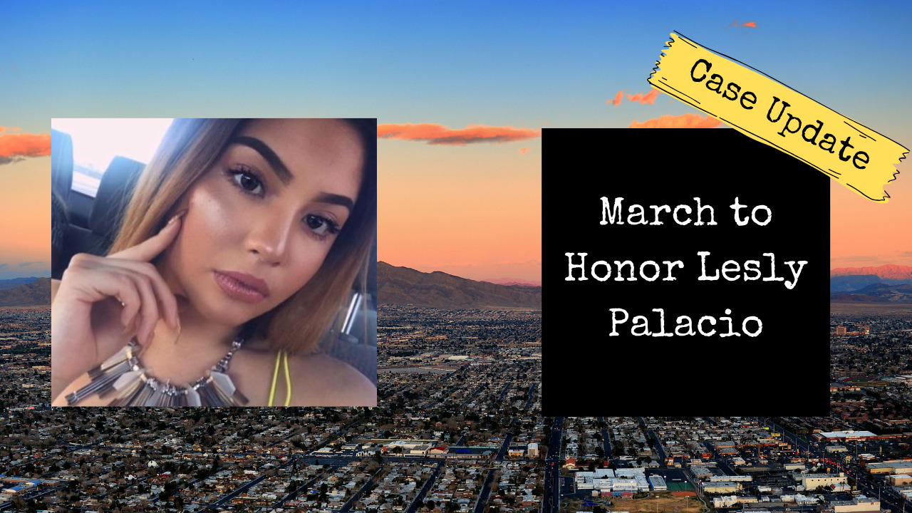 Family, Friends and Supporters Hold March to Honor Lesly Palacio