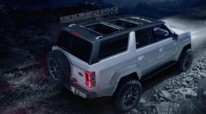 2020 Ford Bronco 4 Door