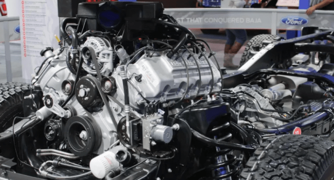2020 Ford Falcon Engine