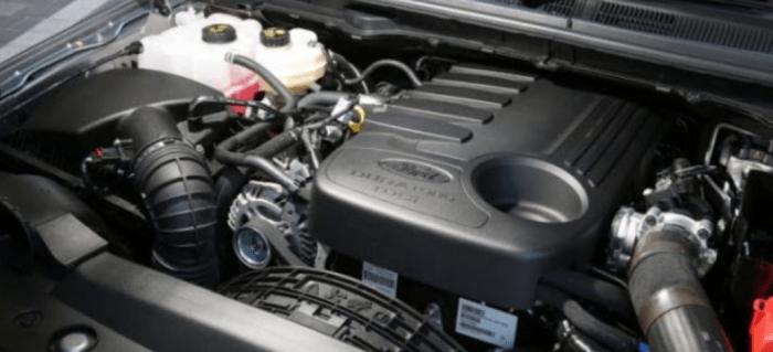 2020 Ford Everest Engine