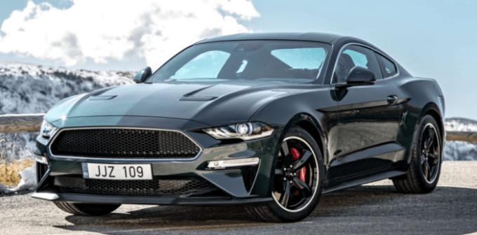2019 Ford Mustang Hybrid Design