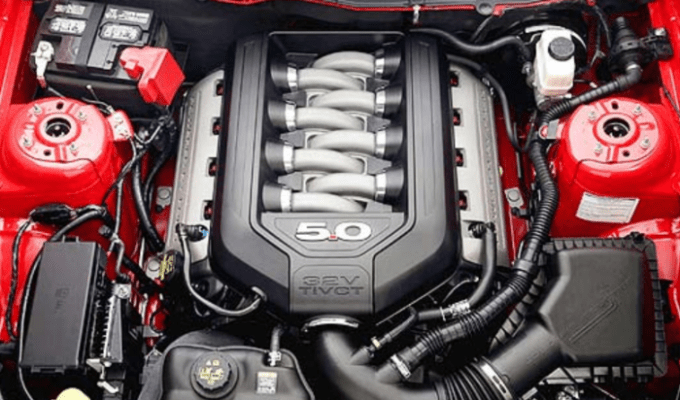2021 Ford Mustang Hybrid Engine