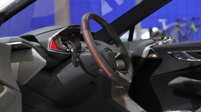 2021 Ford Fiesta Interior