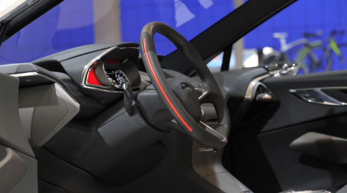 2021 Ford Fiesta Interior
