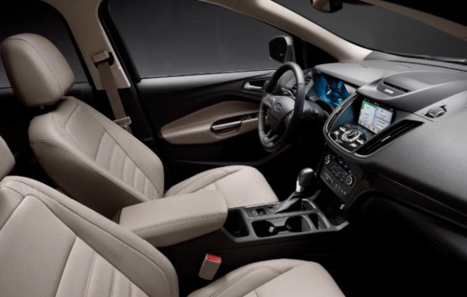 2021 Ford Kuga Interior