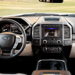2020 Ford Super Duty Interior