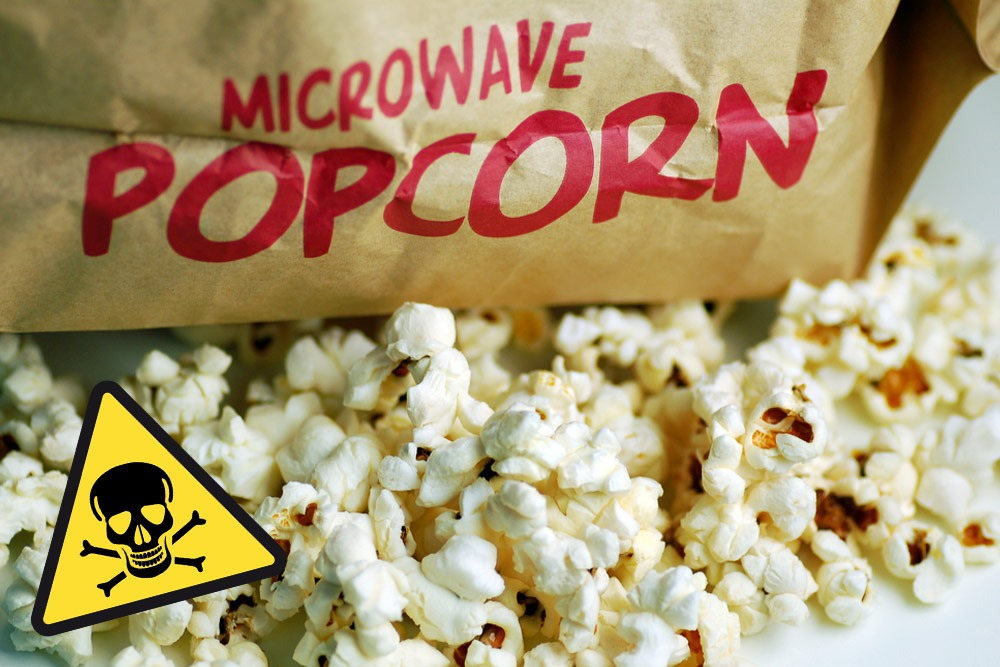 Ten Foods That Are Bad and You Should Never Eat - Microwave Popcorn