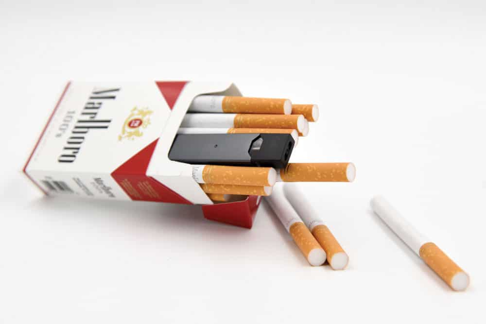Is the JUUL healthier than cigarettes