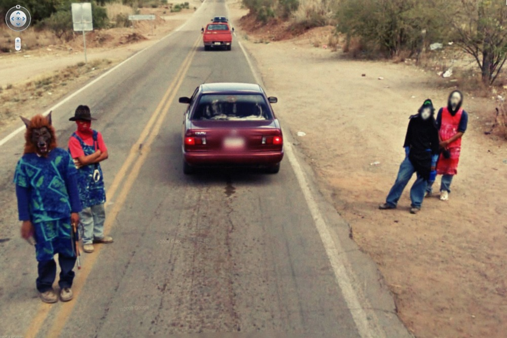 15 Crazy Moments Captured on Google Street View - South African Gangsters