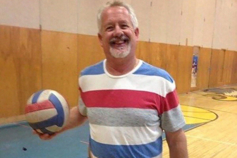 Photos of People Who Oddly Resemble Random Objects - Man That Looks Like Volleyball