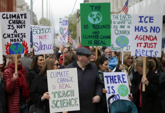 Climate Science is real protest