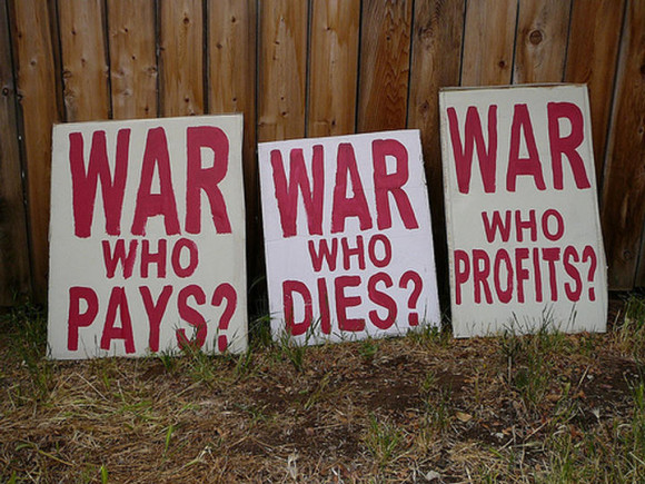 War who pay, who dies, who profits