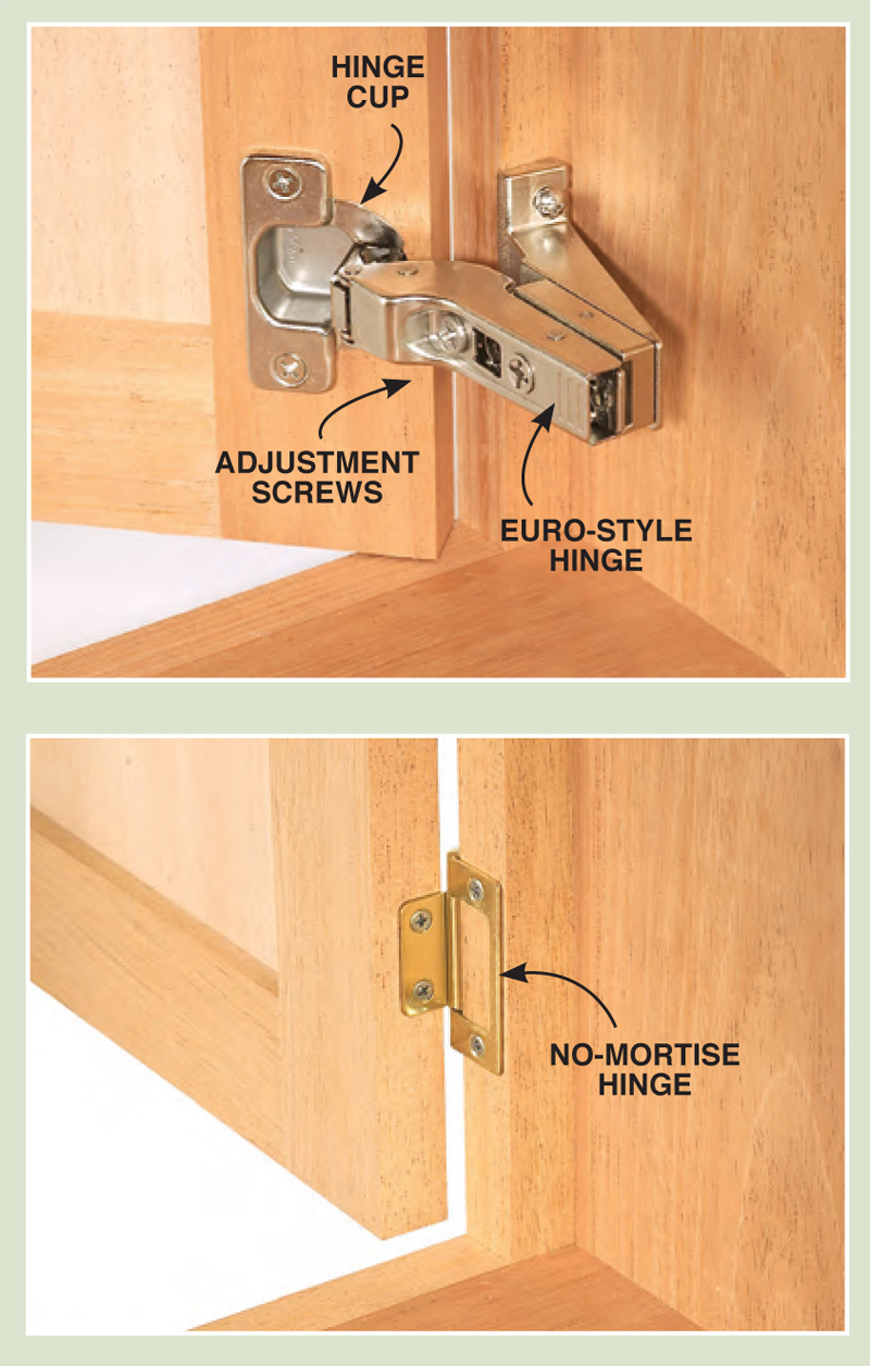 Installing Full Inset Cabinet Hinges  Cabinets Matttroy
