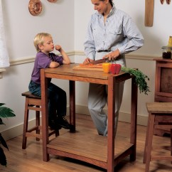 Kitchen Work Tables Online Store Table Popular Woodworking Magazine