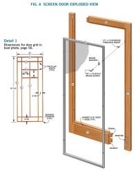 Wooden Storm Door