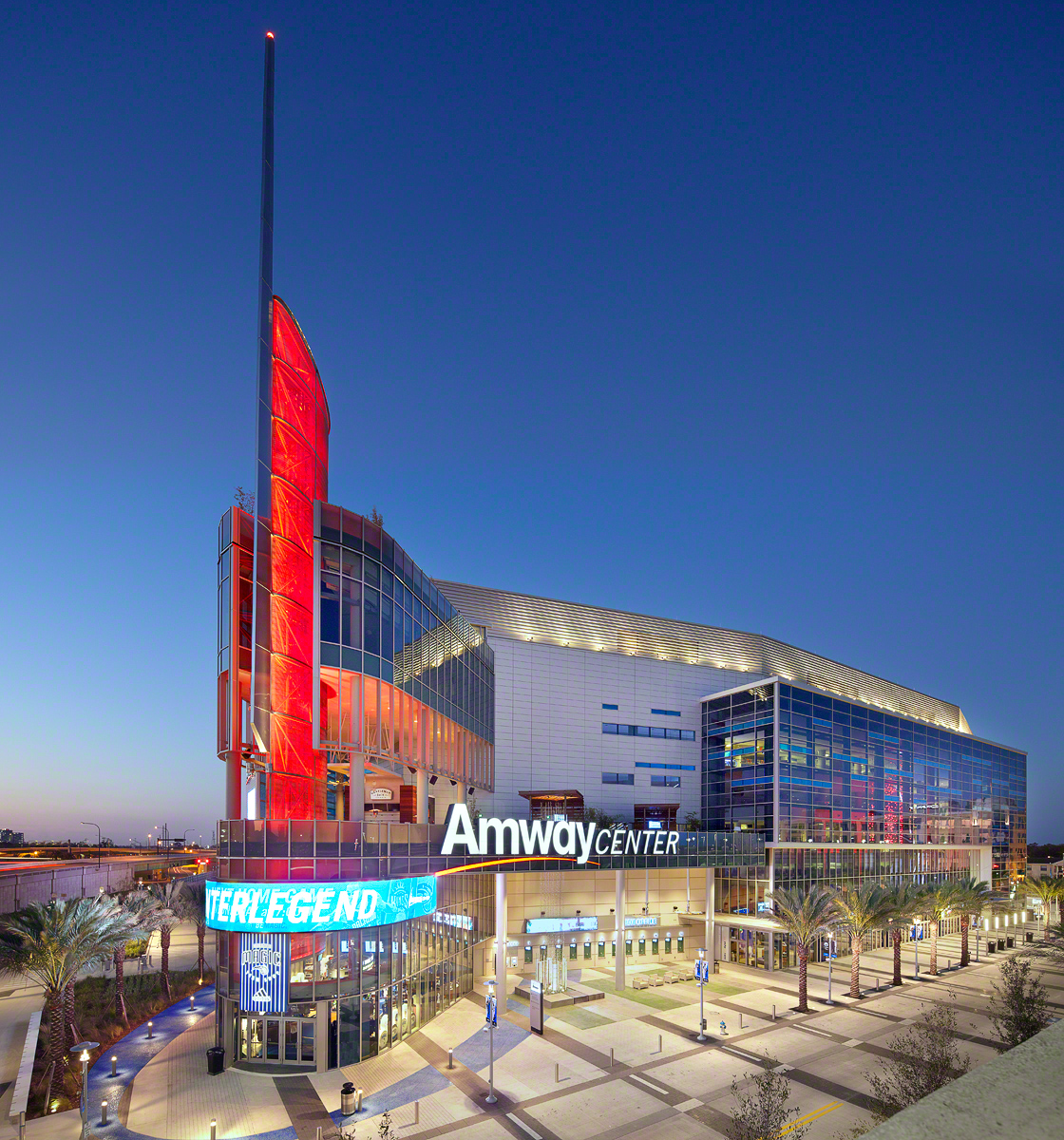Amway Center Achieves LEED Gold Certification  POPULOUS