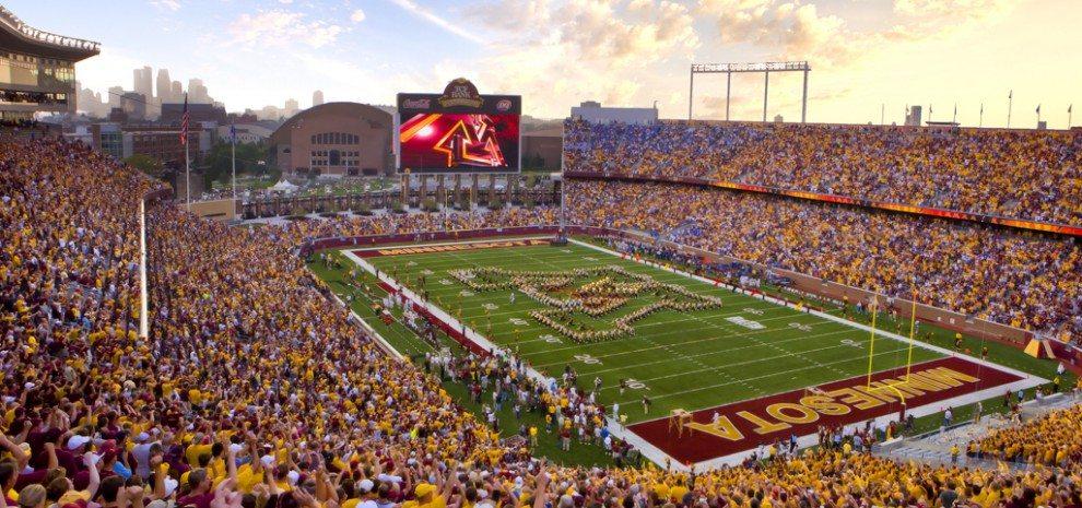 Florida State Iphone X Wallpaper University Of Minnesota Tcf Bank Stadium Populous