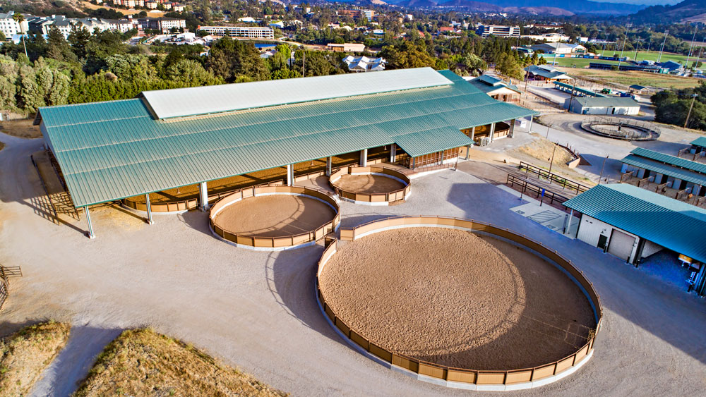 Cal Poly Oppenheimer Family Equestrian Center Populous