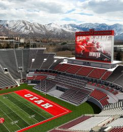 university of utah selects populous as designer for south end zone expansion [ 1504 x 846 Pixel ]