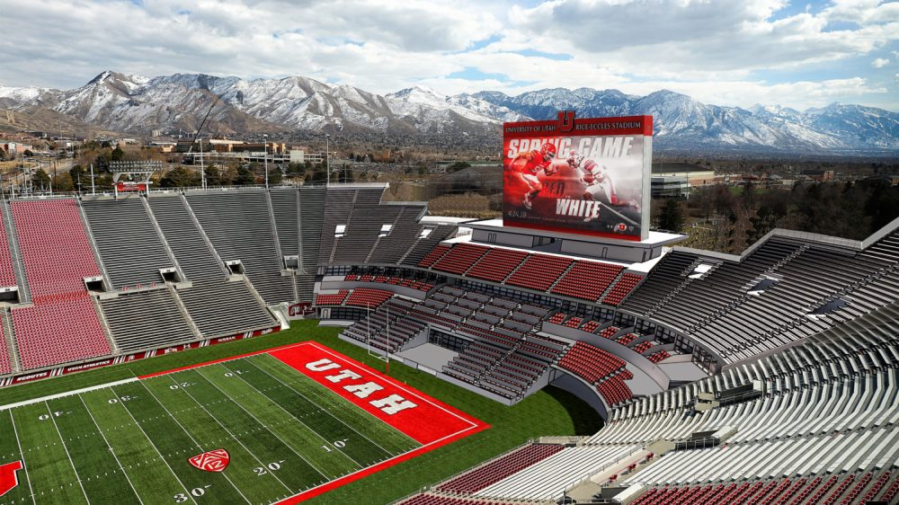 medium resolution of university of utah selects populous as designer for south end zone expansion
