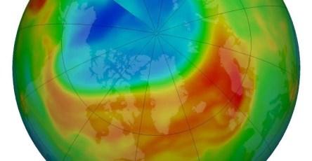 Уровни озона в атмосфере уменьшились до рекордных показателей
