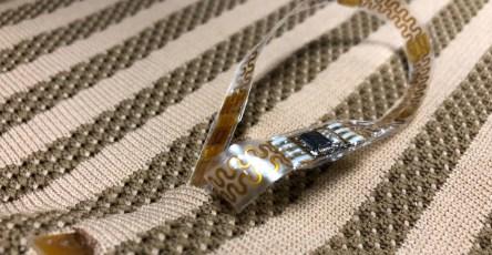 Биомедицинские датчики вплели в одежды