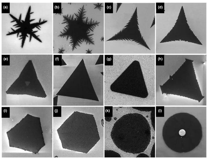 Изучение формы кристаллов может помочь исследователям слоистых наноматериалов