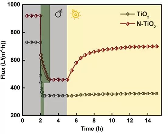 Учёные из США и Китая разработали покрытие для мембраны, способное самоочищаться под действием солнечного света.