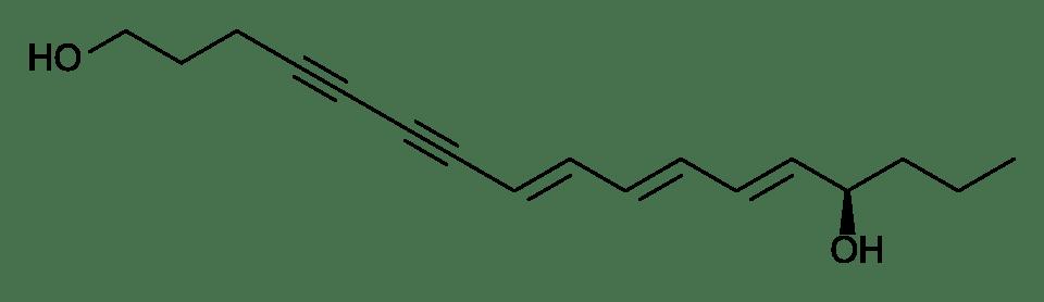 Структурная формула цикутотоксина