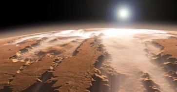Под поверхностью Марса теоретически предсказали наличие жизни