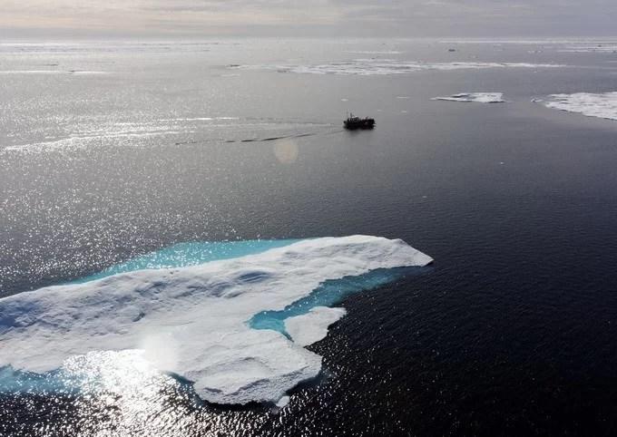 Накопление пресной воды в море Бофорта угрожает Арктике