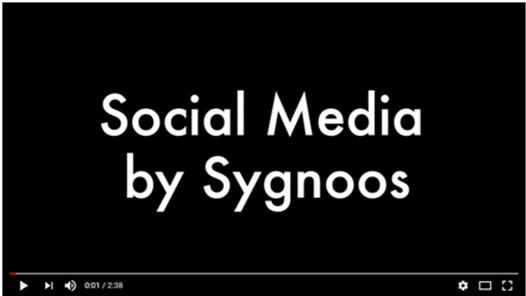 Video popup Social media by Sygnoos