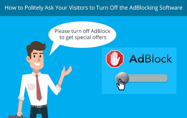 Adblock turn off