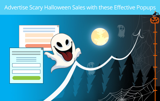 Advertise Scary Halloween Sales with these Effective Popups