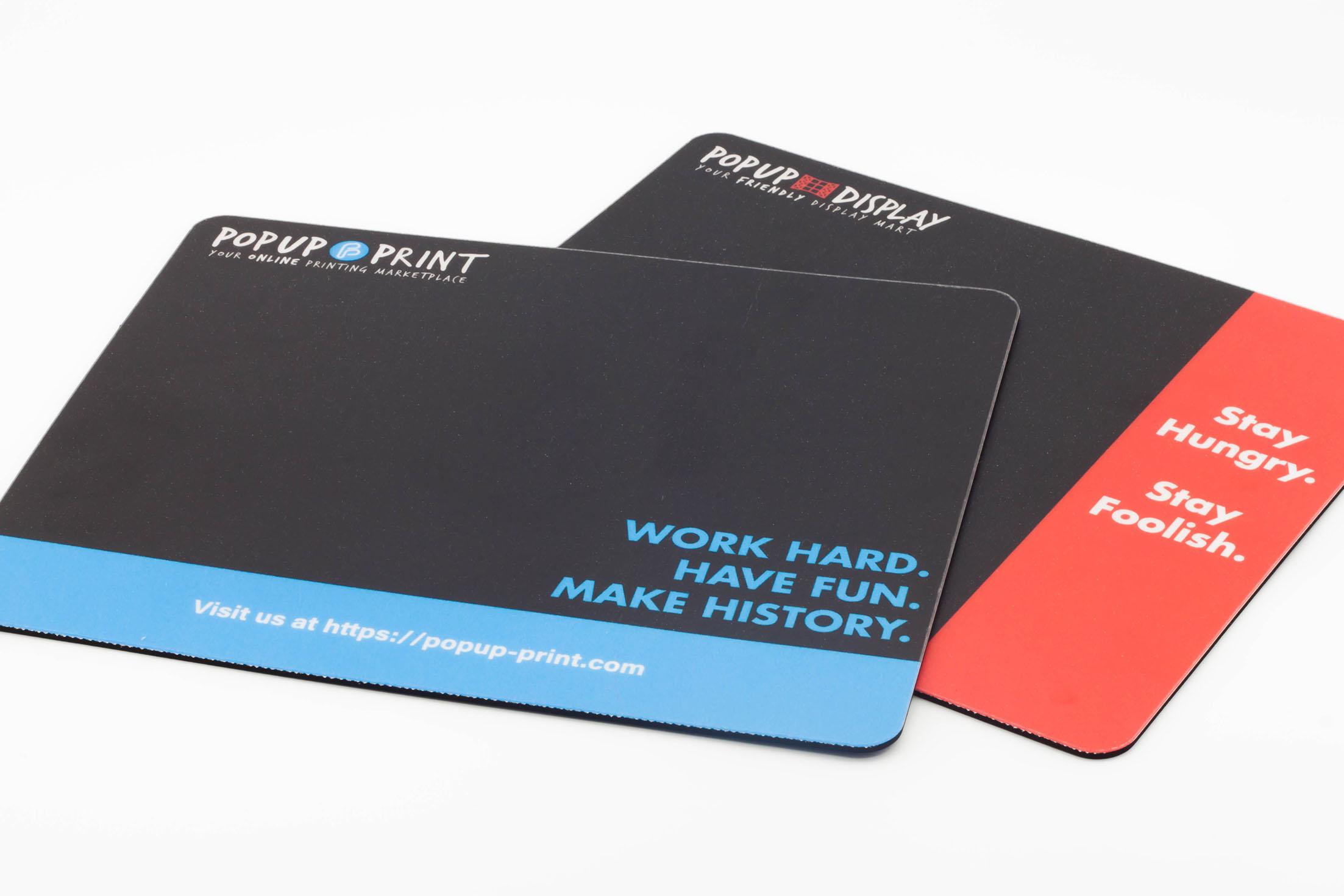 customised mousepad printing high